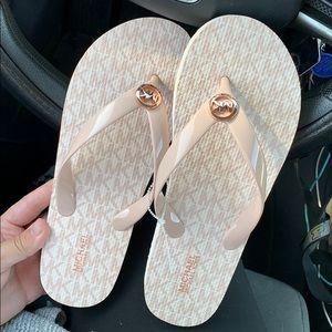 Brand new Michael Kors Sandals Flip Flops
